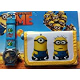 DESPICABLE ME Children's Watch and Wallet Set