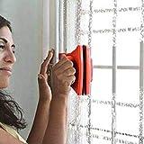 Like Magic Magnetic Cleaner Magnetischer Glasreiniger Fensterwischer Rot