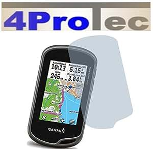 4 x Entspiegelnde Displayschutzfolie Bildschirmschutzfolie von 4ProTec für Garmin Oregon 750T / 700 / 600 / 600T - Nahezu blendfreie Antireflexfolie