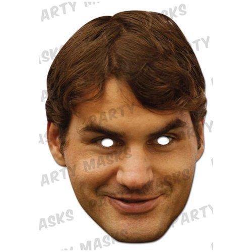 Tennis Spieler Masken Pack 3 Spieler -Andy Murray , Roger Federer ,Rafael Nadal (Tennis-spieler)