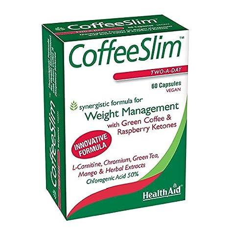 Health Aid Coffee Slim Vegi Capsules -Pack of 60 Capsules