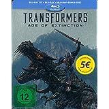 Transformers: Ära des Untergangs 3D - Limited Edition Steelbook (Blu-ray 3D + Blu-ray + Bonus Blu-ray), Müller Exklusiv, Uncut, Regionfree