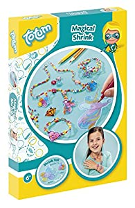 Totum bj20979 - Magical Shrink - Kit de Decorativo Joyas retráctil