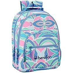 "mochila benetton mujer ""Arcobaleno"" Escolar"