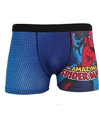 a0f9b89a1f854e Marvel Comics The Amazing Spiderman Mens Cotton Rich Boxer Shorts