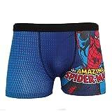 Marvel Comics Spiderman Boxer Shorts (L) (Marineblau/Rot)