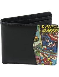 Marvel Official Half Comic Printed Design Wallet