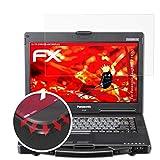 atFolix Schutzfolie passend für Panasonic ToughBook CF-53 Folie, entspiegelnde & Flexible FX Bildschirmschutzfolie (2X)