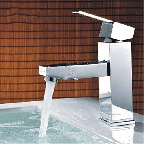 Sopra il contatore bacino freddo/caldo monoforo lavabo