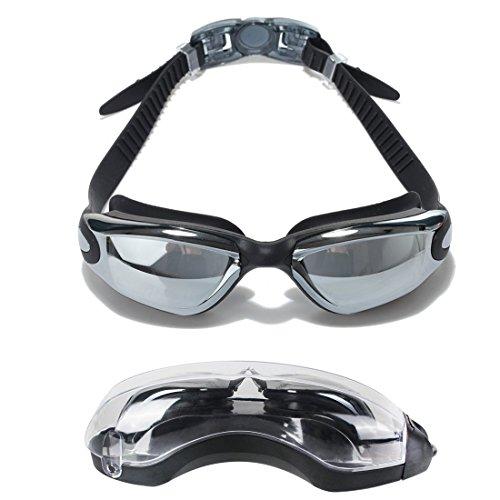 cool lunettes de natation avec tui de protection gratuit eveshine lunettes  de natation verre miroir antibue with lunettes natation decathlon 73413aeb7556