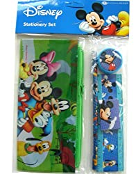 Disney Mickey & Friends Stationery Supplies Set - 5 pcs Discount Value Pack