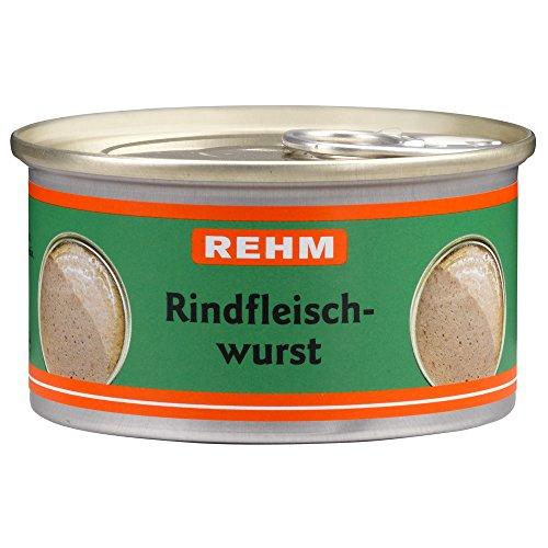 Rehm Rindfleischwurst, 12er Pack (12 x 125 g)