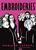 Front cover for the book Embroideries by Marjane Satrapi