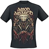 Amon Amarth Viking Camiseta Negro L