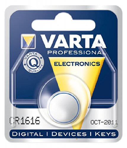 Duracell bouton lithium vARTA cR 1616, 55mAh, 3V sous blister