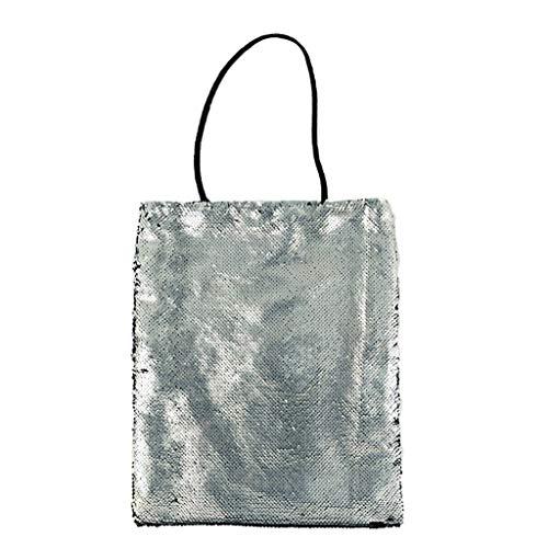 Damen Umhängetasche Taschen Shoulder Bag Handtasche Schultertasche Satchel Rucksack,-Paillette-bunte -Prinzessin Bags Bling Bags -