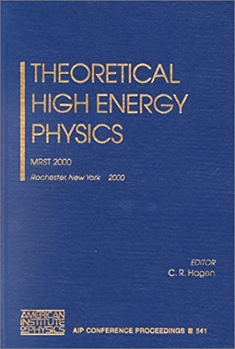 Theoretical High Energy Physics: MRST 2000 (AIP Conference Proceedings / High Energy Physics)