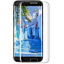 Protector de pantalla Galaxy S7 Edge,Parsion 3D Touch Compatible Full Coverage Cristal Templado, Dureza de Grado 9H, Sin Burbujas, Protector pantalla Samsung Galaxy S7 Edge Cristal Vidrio Templado