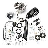 80ccm 2-Takt Gas Motor Fahrrad Fahrrad Motor Kit motorisierte Kit DIY silber Motor