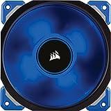 Corsair ML120 Pro - Ventilador (120 mm, levitación magnética, silencioso), azul (CO-9050043-WW)