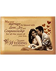 Presto Best Personalised Wooden Engraving Photo Frame Birthday Gift | Valentine's Day Gift | Corporate Gift 4 x 5 inch