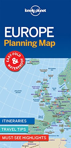 Europe Planning Map (Travel Guide)