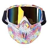 KOBWA Motocross Schutzbrille Maske