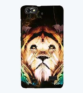 PRINTSWAG LION Designer Back Cover Case for HUAWEI HONOR 4C