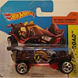 Hot Wheels 2015 – Quicksand, púrpura de HW Off-Road No. 111/250