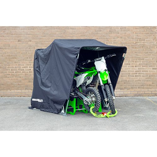 Armadillo Motorcycle Folding Secure Shelter : Medium