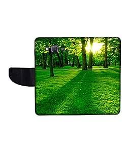 KolorEdge Printed Flip Cover For Samsung Galaxy J5 Multicolor - (1478-50KeMLogo09364SamJ5)