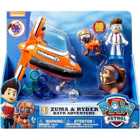 Paw Patrol Zuma's Bath Playset