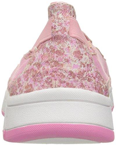 Easy Street Kacey Damen Schmal Rund Synthetik Slipper Pink/Pnk Print