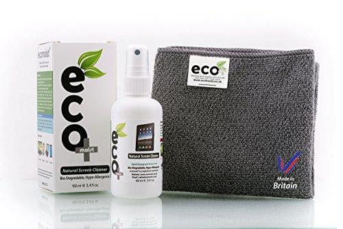 Ecomoist Bildschirmreiniger, Naturprodukt ohne Chemikalien, 100ml, inkl. - Lcd-computer-bildschirm-reiniger