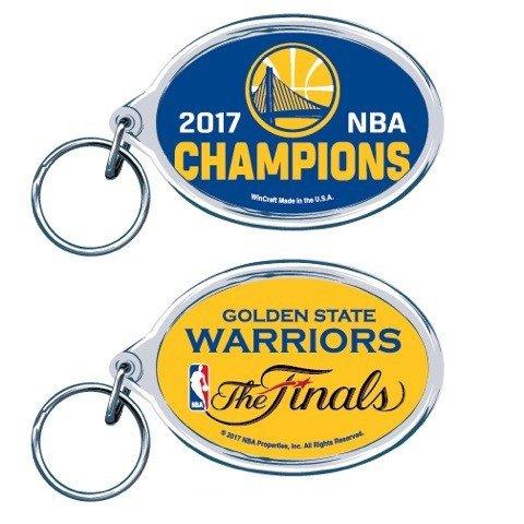 WinCraft Golden State Warriors 2017 NBA Champions Schlüsselanhänger -