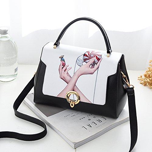 Pacchetto LiZhen donna nuova marea selvaggio coreano ha bisogno di una semplice sacchetto individuale alla moda piccolo pacchetto, fare clic su borsa a tracolla, spell-gufo I tre colori incantesimo stile candy
