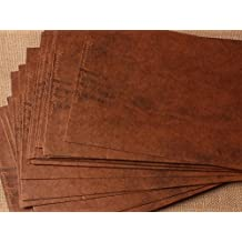 50pz Buste da lettera formato 16*11cm ,110 g/mq, Carta kraft, Carattera antichi Vintage