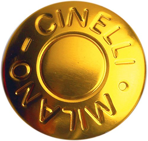 Cinelli Milano Endstöpsel für Fahrradlenker, 1 Paar Gold gold Einheitsgröße