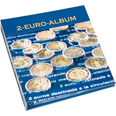 Leuchtturm 341448 NUMIS Álbum para monedas conmemorativas de 2 euros, Tomo 3