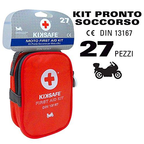 Notfall und Rettung Verbandtasche für Motorrad und Fahrrad DIN 13167