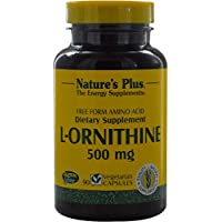 Nature s plus - L-ornithine - 90 gélules - Compense les carences en protéines