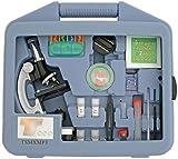 TS Optics Junior 900x Mikroskop Lern Set für Schüler und Jugendliche 28-teilig, TSMXMP3