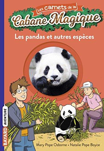 Les carnets de la cabane magique, Tome 22: Les pandas