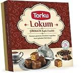 Lokum - Turkish Delight / türkische Spezialität: Torku, Konyaseker - gefüllt mit leckeren Haselnüssen und umhüllt in zarter Schokolade - Hergestellt aus Rübenzucker