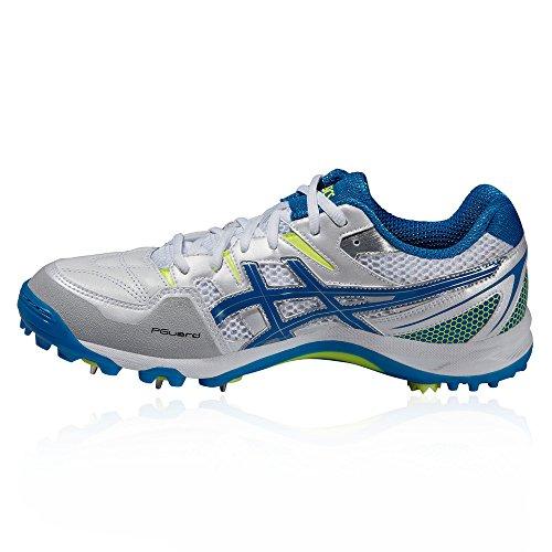 Asics Gel-gully 5, Chaussures de Cricket homme white