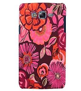 Citydreamz Colorful Floral Design Hard Polycarbonate Designer Back Case Cover For Samsung Galaxy E5