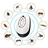 ZRSA Repellente Ad Ultrasuoni-Zanzara Repellente Anti-Zanzara per Topi Anti-Zanzara Anti-Suono Topi (Bianco)