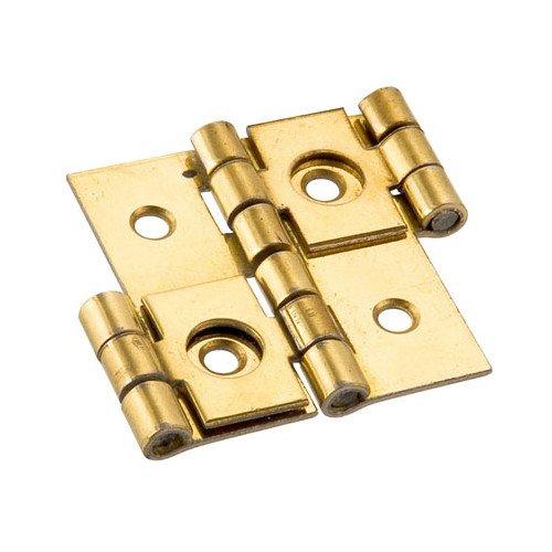 cernierificio valtoce 34240Scharniere für Paravents, Stahl vermessingt, Set von 24, Set von 24Stück (Paravent-scharniere)
