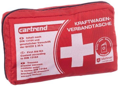 Cartrend-7730042-Verbandtasche-rot-DIN-13164-mit-Malteser-Erste-Hilfe-Sofortmanahmen