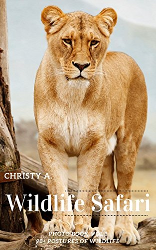 Wildlife Safari Photo Book Vol.1: 90+ postures of wildlife (English Edition) Chaser Leopard